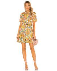 Zimmermann Poppy ドレス Yellow
