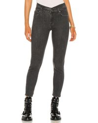 7 For All Mankind スキニー Black