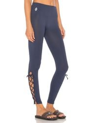 Free People - Blue On Tour Legging - Lyst