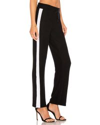 LNA - Black Sweater Track Pant - Lyst