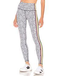 WEAR IT TO HEART Multicolor Slide Stripe Legging