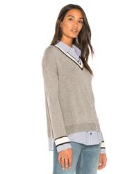 Joie - Gray Belva Sweater - Lyst