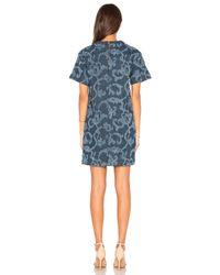 Rag & Bone Blue Esmond Dress