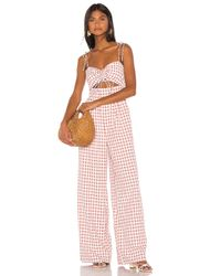 Song of Style Brown Senna Jumpsuit
