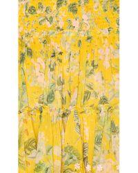 Minifalda terra Hemant & Nandita de color Yellow