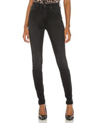 7 For All Mankind The High Waist スキニー Black