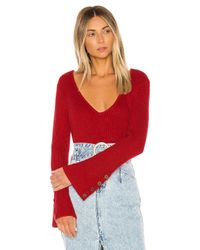 House of Harlow 1960 Red X Revolve Siona Sweater