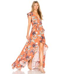 Ravn Orange Galla Dress