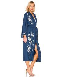 Lovers + Friends Blue Yuna Kimono Jacket