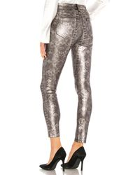 High waist ankle skinny talla 23 7 For All Mankind de color Gray