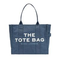 Сумка Тоут Traveler В Цвете Голубая Тень Marc Jacobs, цвет: Blue