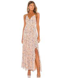 Astr Pink Holland Dress