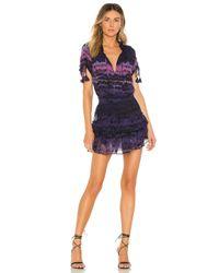 MISA Los Angles Becca ミニドレス Purple