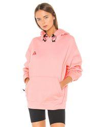 Nike Pink Nrg Acg Po Hoodie