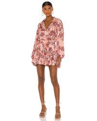 MISA Los Angles Lorena ドレス Pink