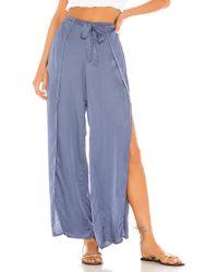 Pantalón fauna Young Fabulous & Broke de color Blue