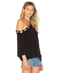 Lovers + Friends - Black Cabana Top - Lyst