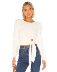 Tularosa White Daphne Sweater