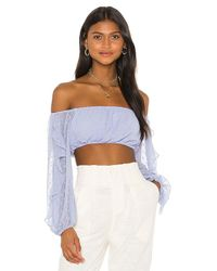 Tularosa Blue One Sweet Day Top