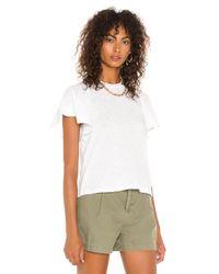 David Lerner Candice Tシャツ White