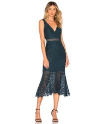 Bardot Sienna ドレス Blue