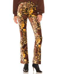 Agolde Nico ブーツカットパンツ Multicolor
