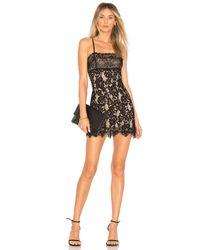 MAJORELLE Black Apollo Dress