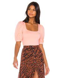LPA Pink Bria Bodysuit