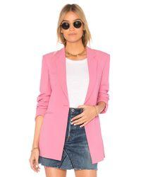 Theory Pink Power 2 Blazer