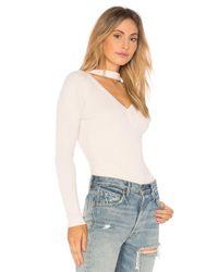 Heartloom - White Dia Sweater - Lyst