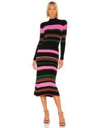 Tanya Taylor Black Velma Knit Dress