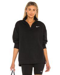 Пуловер Qz В Цвете Черный Nike, цвет: Black