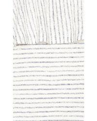 Splendid White Linen Mini Stripe Dress