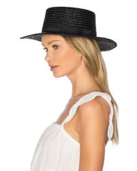 L*Space - Black Jadore Hat - Lyst