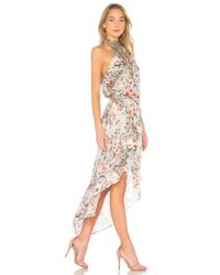 Haute Hippie Multicolor Wished Upon Dress