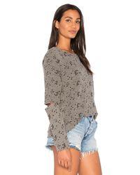 Michael Lauren Gray Briggs Pullover Sweatshirt