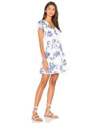 Yumi Kim Blue Grapevine Dress