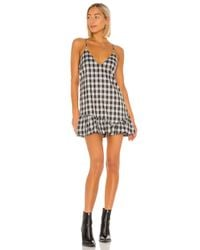 Lovers + Friends Blue Owen Mini Dress