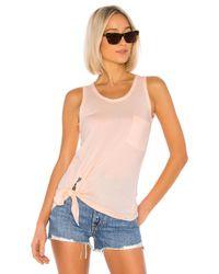 Camiseta tirantes Bobi de color Pink