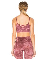 Free People - Pink Washed Barely There Bra - Lyst