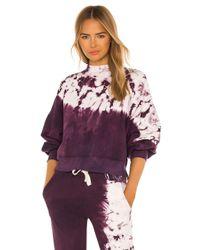 Electric and Rose Dakota スウェットシャツ Purple