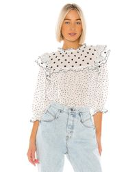 The Great Doll Top ブラウス White