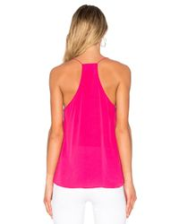 Cami NYC Pink Racer Lace Cami