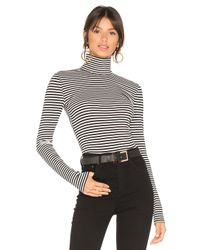 House of Harlow 1960 Black X Revolve Ryan Turtleneck Top