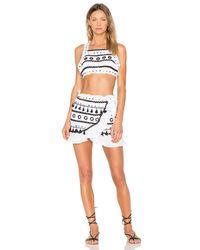 Dodo Bar Or White Abigail Skirt