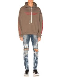 Represent Multicolor Hell Hoodie for men