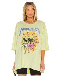 Daydreamer グラフィックtシャツ Yellow