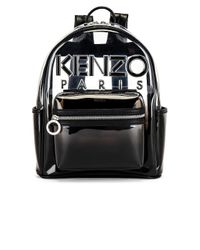 KENZO バックパック Black
