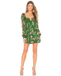 Lovers + Friends Green Marcella Mini Dress