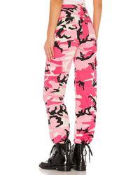 Брюки С Камуфляжным Рисунком Jada В Цвете Розовый Камуфляж - Pink. Размер Xs (также В Xxs). superdown